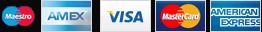 Payment Methods: Maestro, MasterCard & Visa