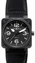 Bell & Ross BR01 BR 01-92 Black Band Watch