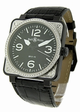Bell & Ross BR01 BR-01-92-CAR-DIA Mens Watch