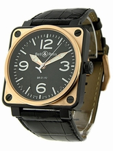 Bell & Ross BR01 BR-01-92BI-C Mens Watch
