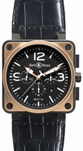 Bell & Ross BR01 BR 01-94 Black Dial Watch