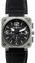 Bell & Ross BR01 BR 01-94 Calfskin Band Watch