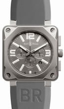 Bell & Ross BR01 BR 01-94 Grey Dial Watch