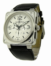 Bell & Ross BR01 BR-01-94-WHT-LS Mens Watch