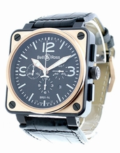 Bell & Ross BR01 BR01-94-BICOLOR Mens Watch