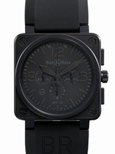 Bell & Ross BR01 BR01-94BLACK Mens Watch