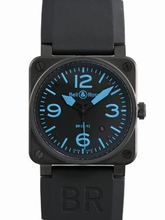 Bell & Ross BR01 BR03-92S-BLUE Mens Watch
