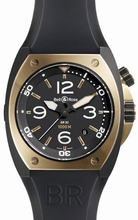 Bell & Ross BR02 BR 02-92 Black Dial Watch