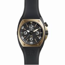 Bell & Ross BR02 BR 02-92 Rose Gold Bezel Watch