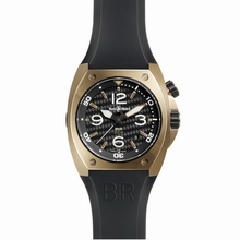 Bell & Ross BR02 BR 02-92 Rose Gold Case Watch