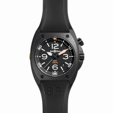 Bell & Ross BR02 BR 02-92 Stainless Steel Case Watch