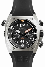 Bell & Ross BR02 BR 02-94 Black Dial Watch