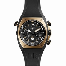 Bell & Ross BR02 BR02-94 Black Dial Watch
