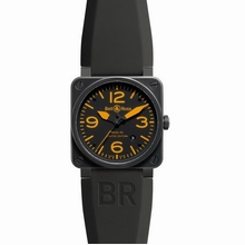 Bell & Ross BR03 BR 03-92 Black Band Watch
