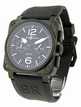 Bell & Ross BR03 BR-03-94-CARBON Mens Watch