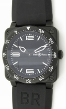 Bell & Ross BR03 BR03-88-S Mens Watch