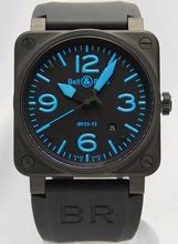 Bell & Ross BR03 BR03-92-BLUE Mens Watch