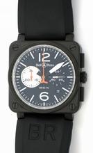 Bell & Ross BR03 BR03-94-CF-B&W Mens Watch