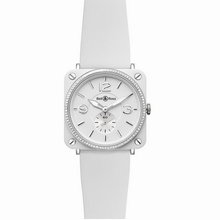Bell & Ross BRS BR-S White Band Watch