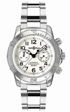 Bell & Ross Classic Diver 300 White Mens Watch