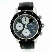 Bell & Ross Classic Pilot Chronograph Mens Watch