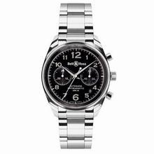 Bell & Ross Geneva Geneva 126 Black Dial Watch