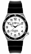 Bell & Ross Professional Type Marine White Mens Watch