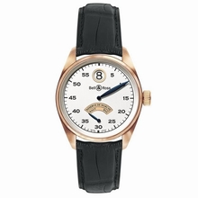 Bell & Ross Vintage 123 Jumping Hour Mens Watch