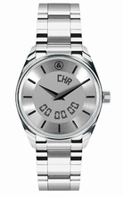 Bell & Ross Vintage Function Index Silver Steel Mens Watch