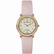 Blancpain Ladybird 0096-312RO-52 Ladies Watch