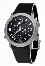 Blancpain Leman Alarm GMT 2041-1230-64b Quartz Watch