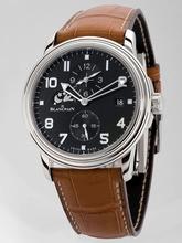 Blancpain Leman Alarm GMT 2041-3642M-53B Mens Watch
