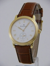 Blancpain Leman Ultra Slim 7002w-1418-55 Mens Watch