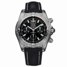 Breitling Blackbird A4435910/B811 Black Dial Watch