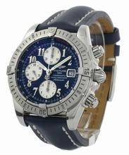 Breitling Chronomat A13356 Blue Band Watch