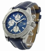Breitling Chronomat A13356 Blue Dial Watch