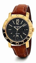 Bvlgari BB BB42BGLDAUTO Mens Watch