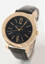 Bvlgari Diagono BB42BGLD Mens Watch