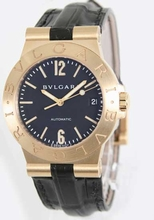 Bvlgari Diagono LCV35GLD Mens Watch