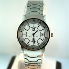 Bvlgari Solotempo ST 35 S White Dial Watch