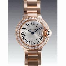Cartier Ballon Bleu WE9002Z3 Ladies Watch