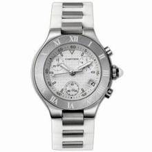 Cartier Must 21 W10197U2 Mens Watch