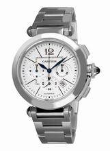 Cartier Pasha W31085M7 White Dial Watch
