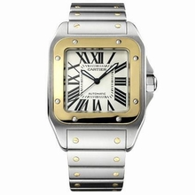 Cartier Santos 100 W200728G Mens Watch