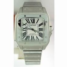 Cartier Santos 100 W200737G Mens Watch