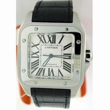 Cartier Santos 100 W20073X8 Mens Watch