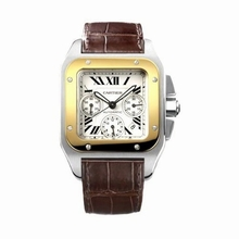 Cartier Santos 100 W20091X7 Mens Watch