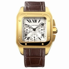 Cartier Santos 100 W20096Y1 Mens Watch