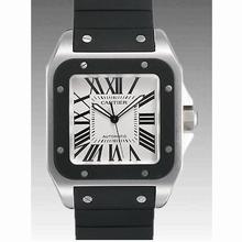 Cartier Santos 100 W20121U2 Mens Watch