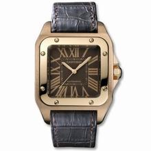 Cartier Santos 100 W20127Y1 Mens Watch